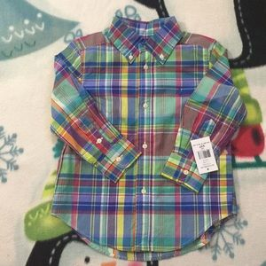 Boys Ralph Lauren Casual Shirt
